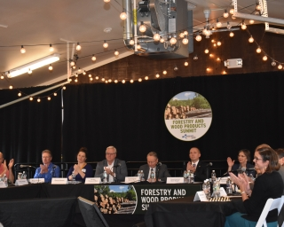 Forestry and Wood Products Summit head table
